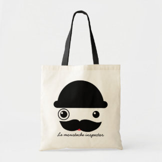 Moustache Inspector Canvas Bag