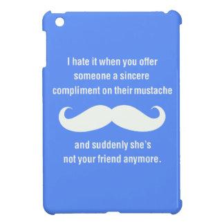 Moustache joke case for the iPad mini
