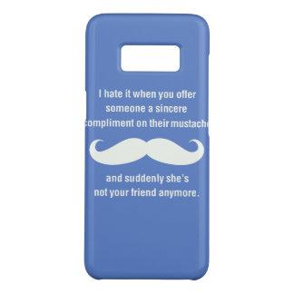 Moustache joke Case-Mate samsung galaxy s8 case