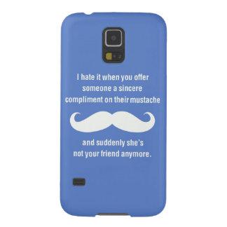 Moustache joke galaxy s5 covers