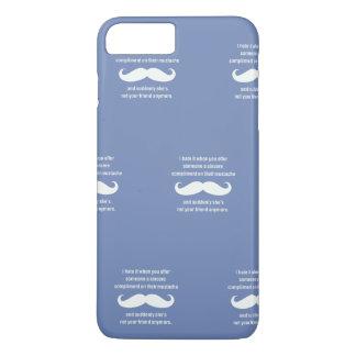 Moustache joke iPhone 8 plus/7 plus case