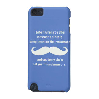Moustache joke iPod touch (5th generation) cover