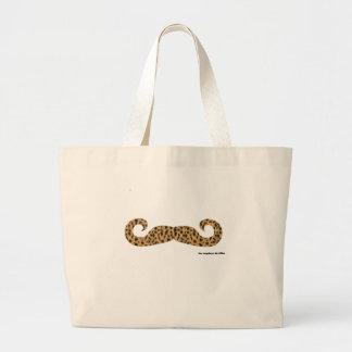 Moustache Jumbo Tote Bag