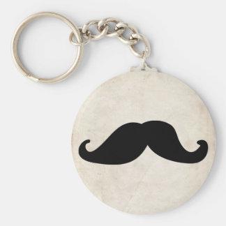 Moustache Key Ring
