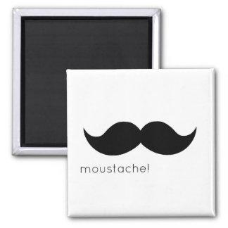 moustache kühlschrankmagnet