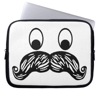 Moustache Laptop Sleeve