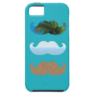 Moustache Life s A Beach iPhone 5 Cases