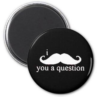Moustache Refrigerator Magnet