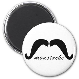 Moustache moustache refrigerator magnet