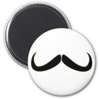 Moustache moustache mustache 6 cm round magnet