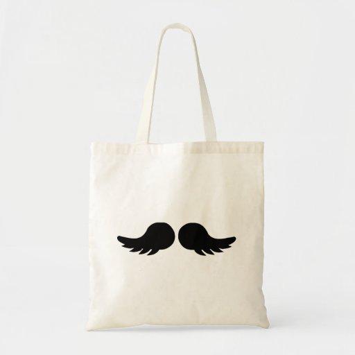 Moustache moustache mustache tote bag