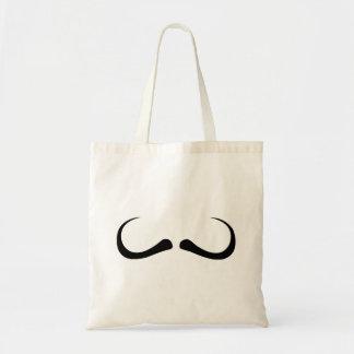 Moustache moustache mustache canvas bags