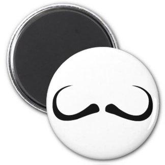 Moustache moustache mustache fridge magnet
