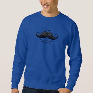 Moustache, Stop Rape, Discrimination Against Women Sweatshirt