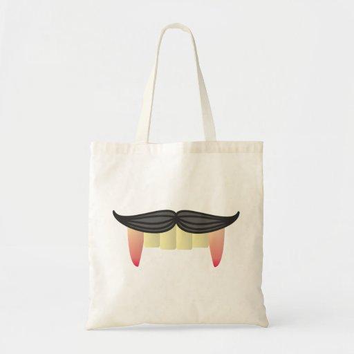 Moustache vampire moustache vampire bags