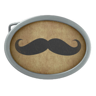 Moustache Vintage Mustache Belt Buckle