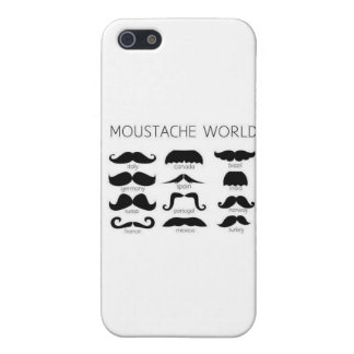 Moustache World iPhone 5 Covers