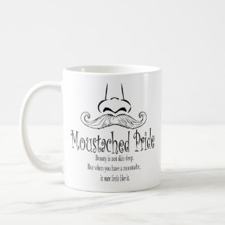 Moustached Pride Coffee Mug