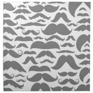 Moustaches a background napkin