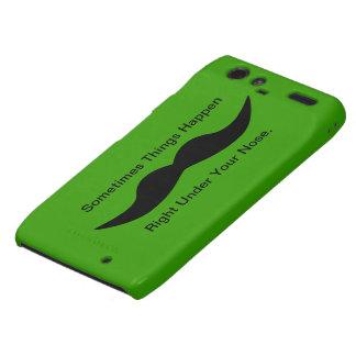 Moustaches Happen Motorola Droid RAZR Cover
