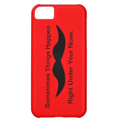 Moustaches Happen Case For iPhone 5C