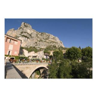 Moustiers-Sainte-Marie, Provence, France. Photo Print