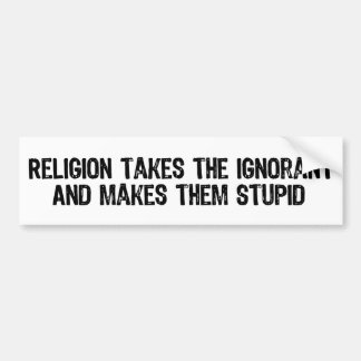 Mouth Breather Truth Bumper Stickers