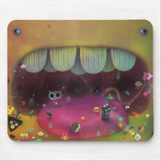 mouth of doom mouse pad