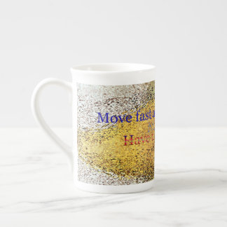 move dot pattern tea cup