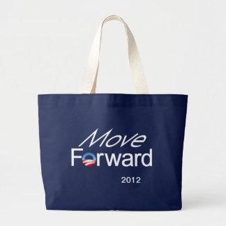 Move Forward - Obama 2012 campaign Jumbo Tote Bag