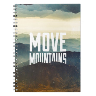 Move Mountains Notebook