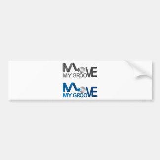 Move My Groove Merch Bumper Sticker