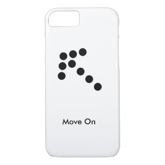 Move On iPhone Case