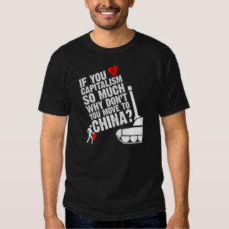 Move to China Tee Shirts