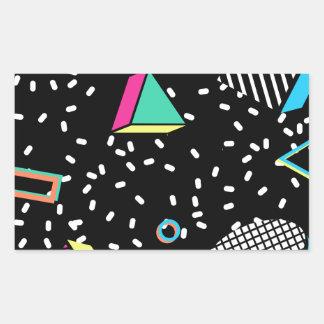 move to memphis rectangular sticker