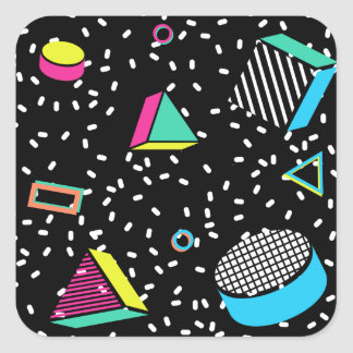 move to memphis square sticker