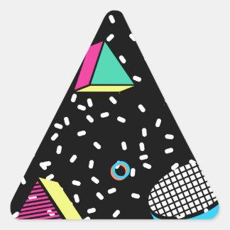 move to memphis triangle sticker