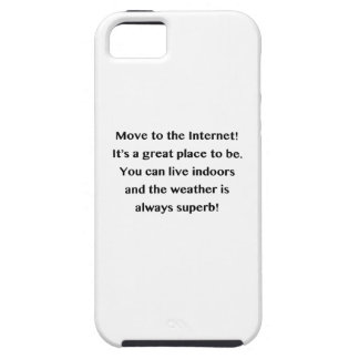 Move to the Internet Geek Tough iPhone 5 Case
