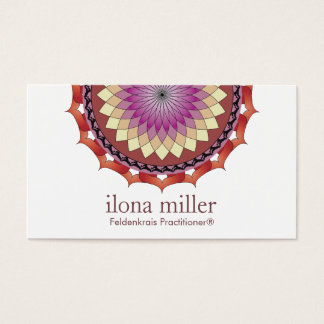 Movement Mandala Business Card | Rolling In Autumn