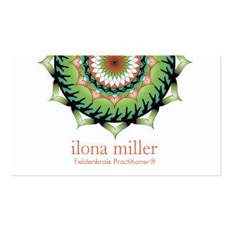 Movement Mandala Business Card   Rolling Standing