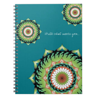 Movement Mandala Notebook 2 | Write What Moves You