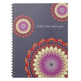 Movement Mandala Notebook | Write What Moves You