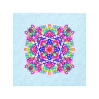 Movement Pink and Purple Mandala Canvas Wall Art