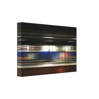 Movement touch canvas print