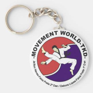 Movement World Taekwondo Key Ring