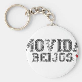 Movida a beijos key chains