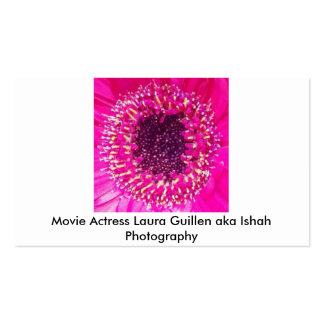 Movie Actress Laura Guillen aka Ishah Photography Pack Of Standard Business Cards