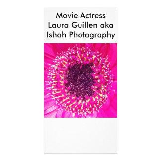 Movie Actress Laura Guillen aka Ishah Photography Photo Card
