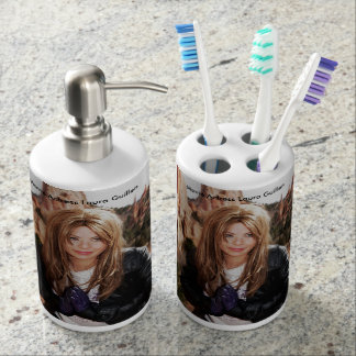 Movie Actress Laura Guillen Kitchen and Bath Items Soap Dispensers