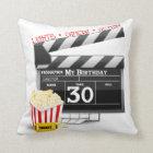 Movie Birthday Party 30th Birthday Cushion